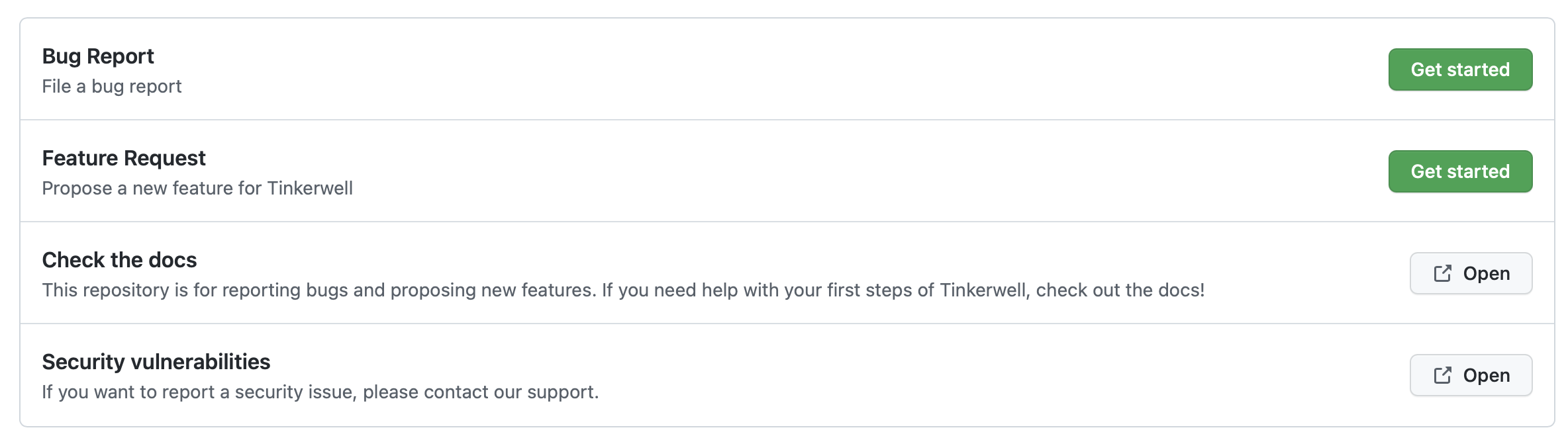 Finished GitHub Issue Form
